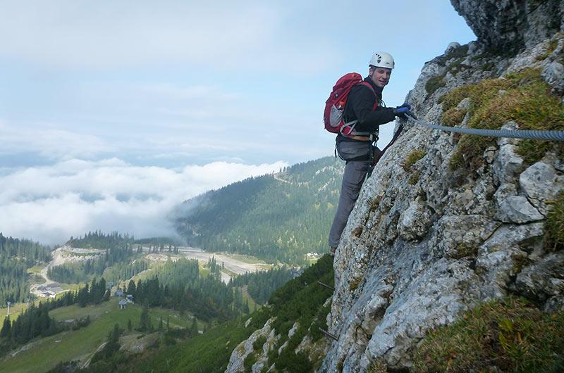 Klettersteig Niederösterreich : Am klettersteig sicher unterwegs